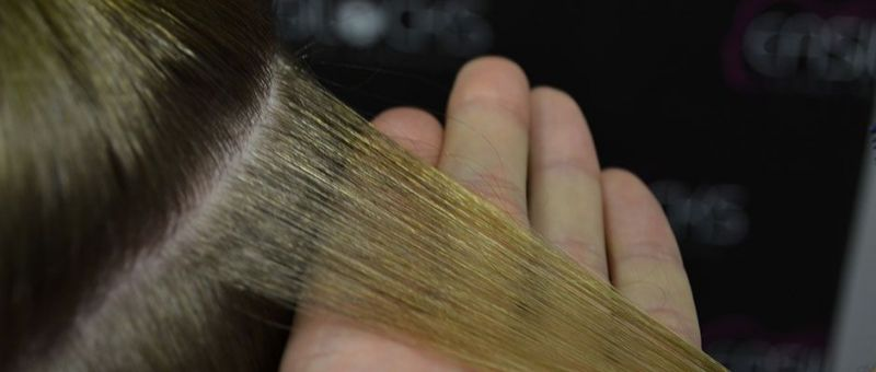Easitape Hair Extension Application - Step 1 - Preparation