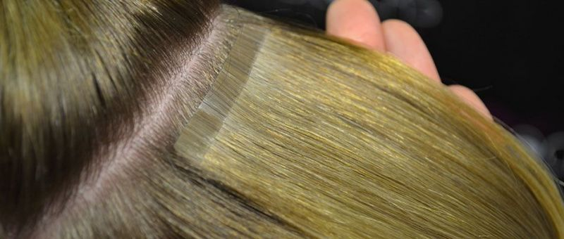 Easitape Hair Extension Application - Step 4 - Checking