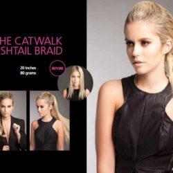 The Catwalk Fishtail Braid